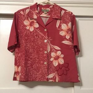 TOMMY BAHAMA WOMENS BUTTON-DOWN size S